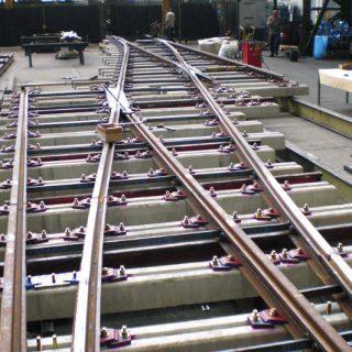 support de voies tramway