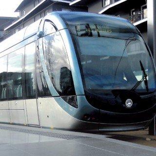 Ligne de tramways Bordeaux Sateba France